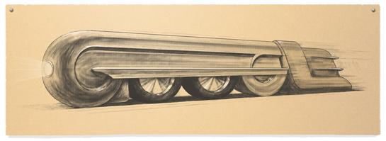 Raymond Loewy's Google Doodle