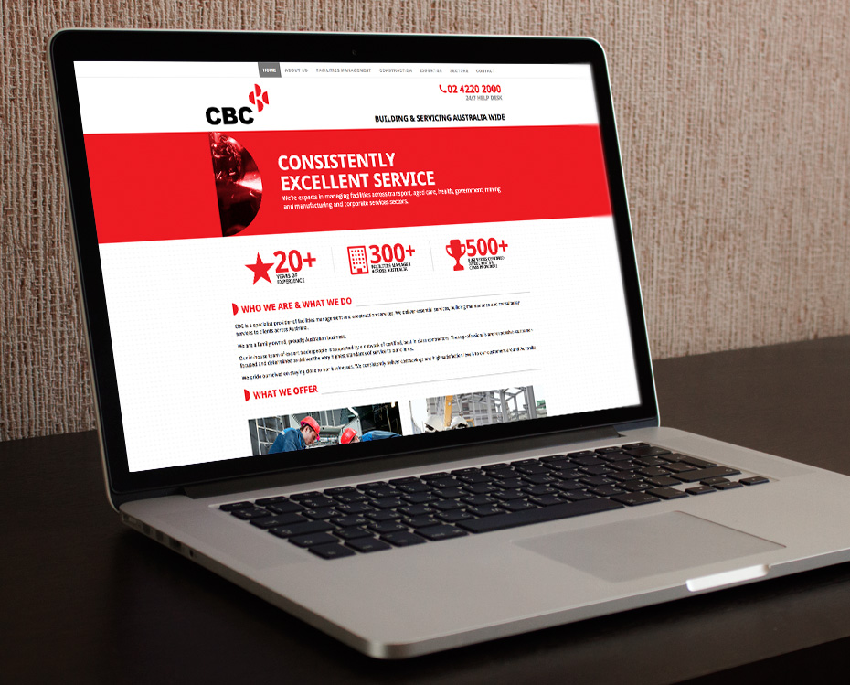 CBC Group Responsive WordPress Website