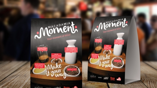 The Coffee Experience Macadamia Moment