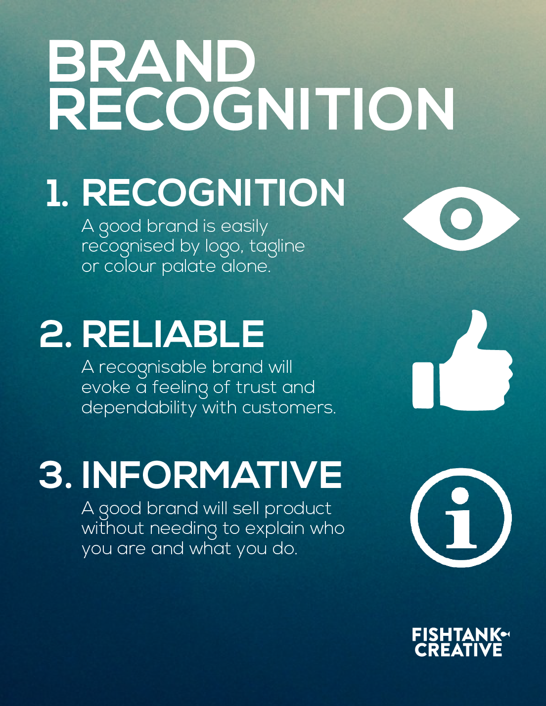 brand recognition infographic