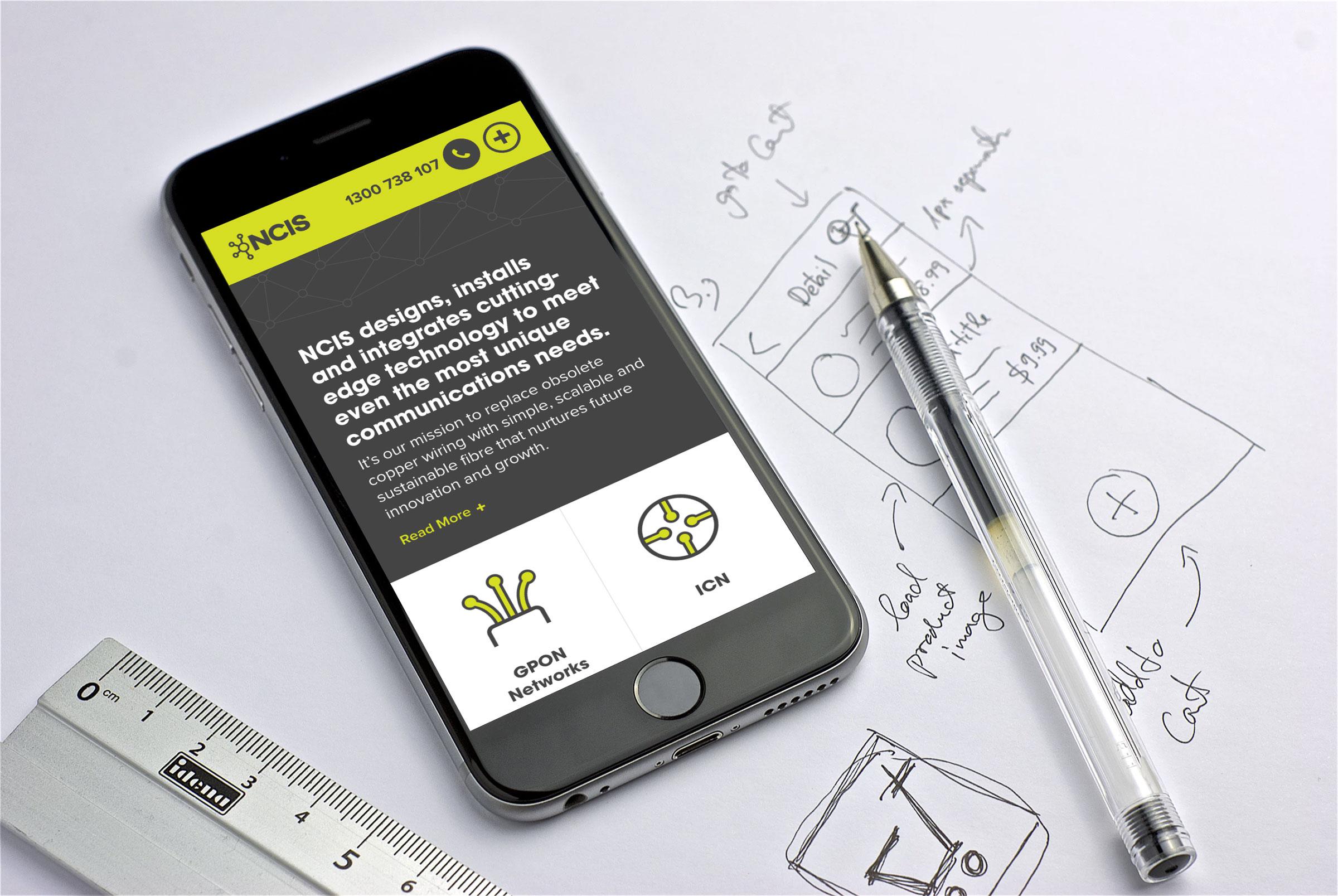 NCIS website mobile responsive