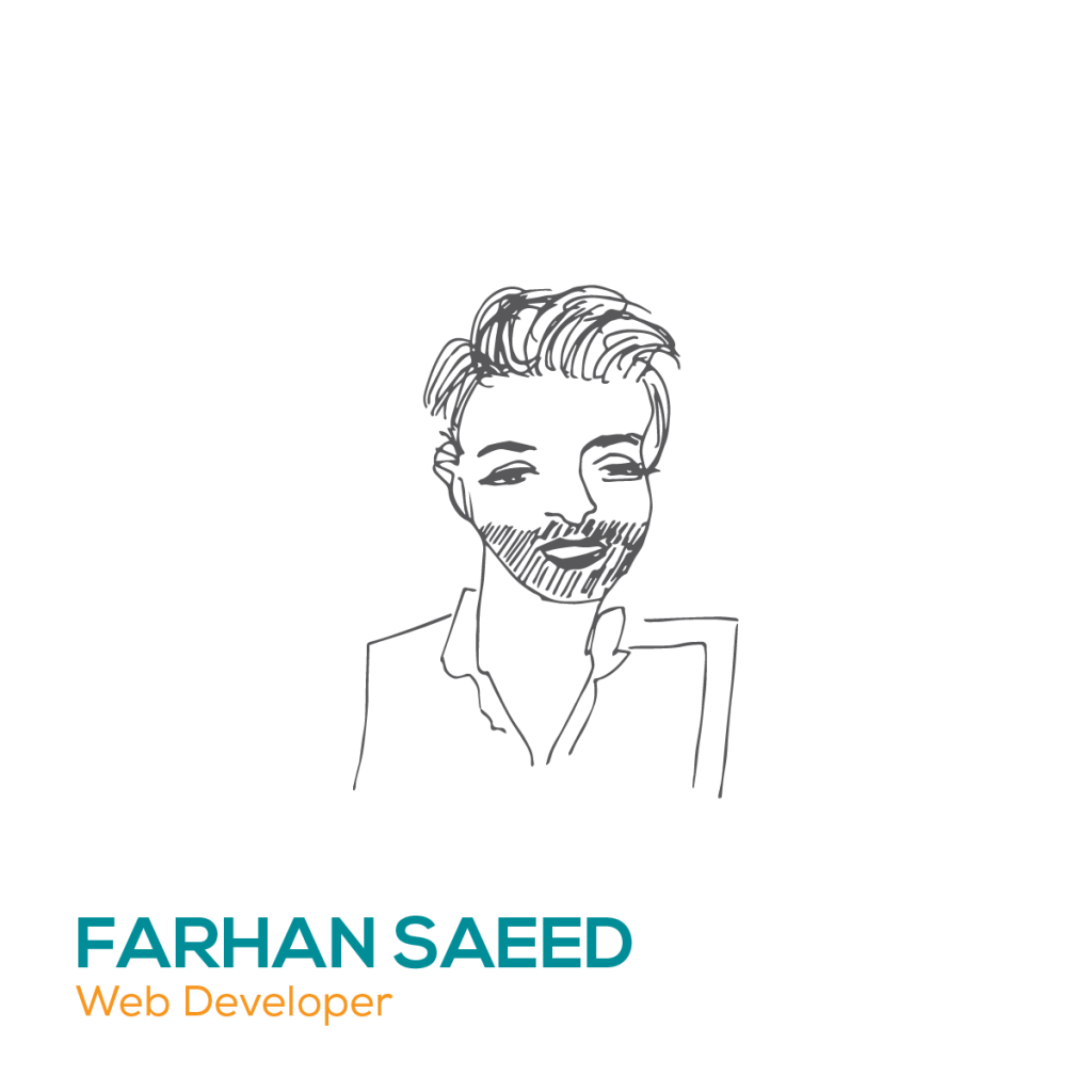 Farhan Saeed, Web developer