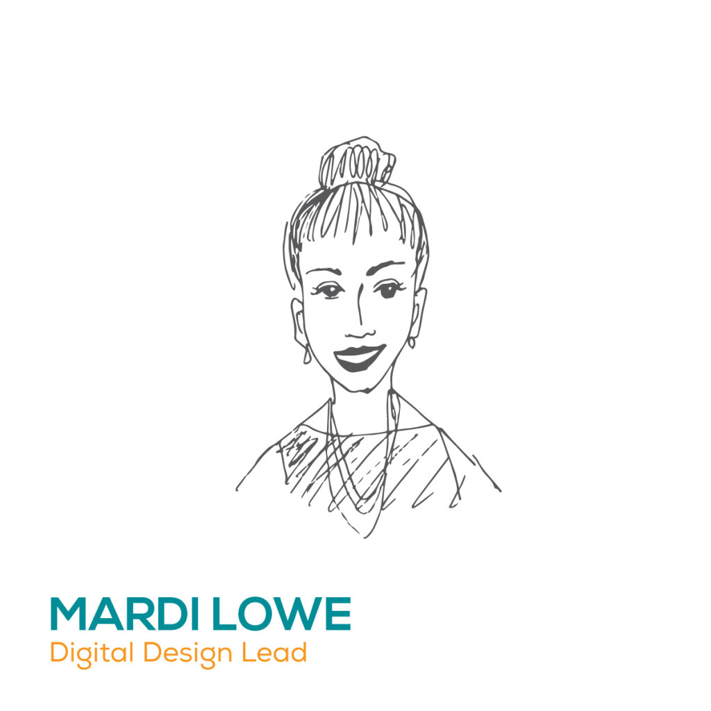 Mardi Lowe. design lead, pre press mastermind and lord of all things WordPress